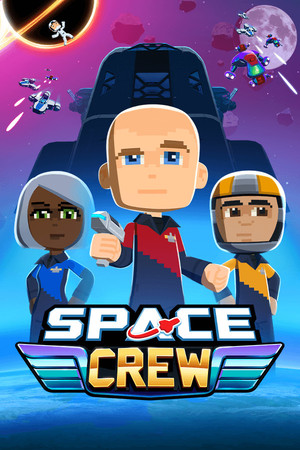 Cover for Space Crew.