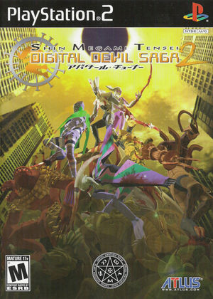 Cover for Shin Megami Tensei: Digital Devil Saga 2.
