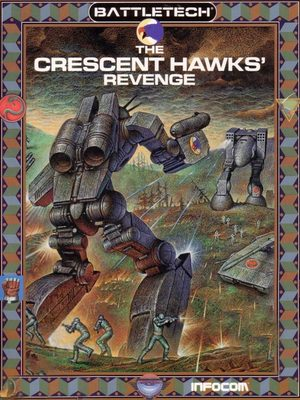 Cover for BattleTech: The Crescent Hawk's Revenge.