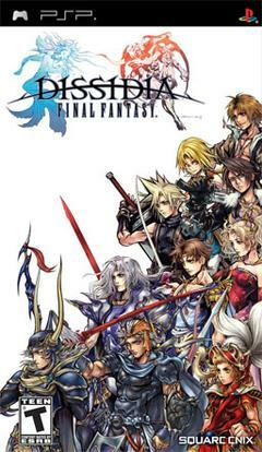 Cover for Dissidia Final Fantasy.
