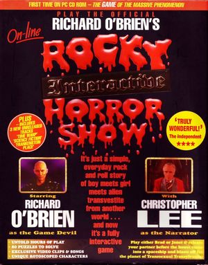 Cover for Rocky Interactive Horror Show.