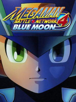 Cover for Mega Man Battle Network 4: Blue Moon.