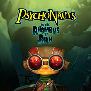 Cover for Psychonauts in the Rhombus of Ruin.