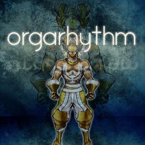 Cover for Orgarhythm.