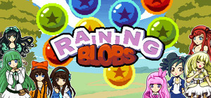 Cover for Raining Blobs.