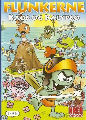 Cover for Flunkerne: Kaos og Kalypso.