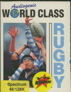 Cover for World Class Rugby.