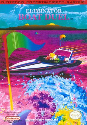 Cover for Eliminator Boat Duel.