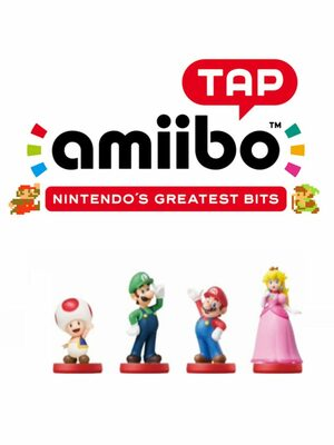 Cover for Amiibo tap: Nintendo's Greatest Bits.