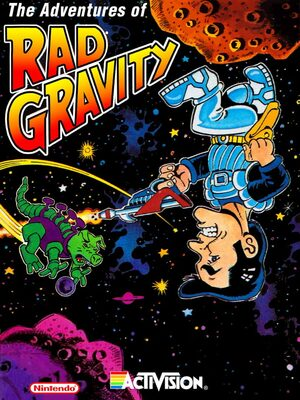 Cover for The Adventures of Rad Gravity.
