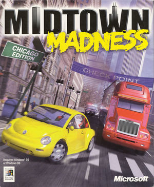 Cover for Midtown Madness.