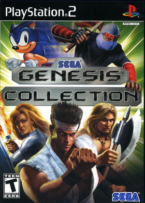 Cover for Sega Genesis Collection.