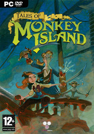 Cover for Tales of Monkey Island.