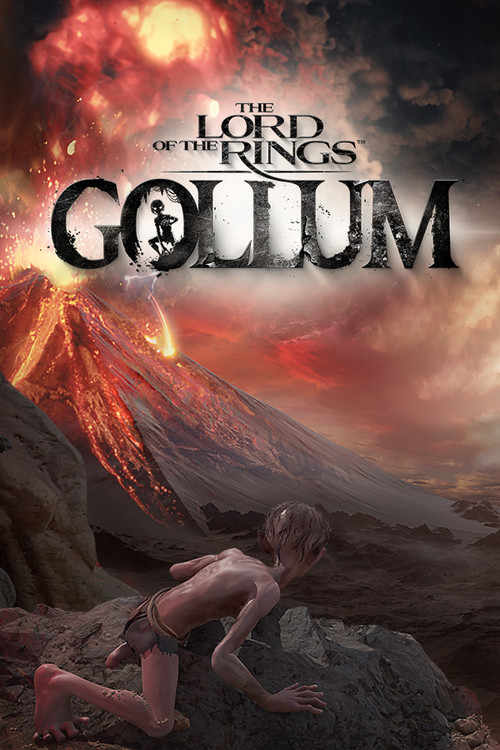 Cover for The Lord of the Rings: Gollum.