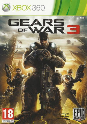 Cover for Gears of War 3.