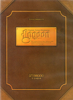 Cover for Lagoon.