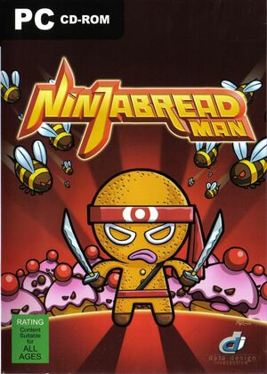 Cover for Ninjabread Man.