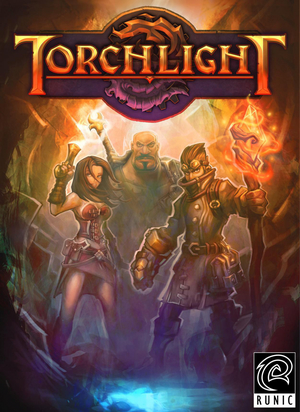Cover for Torchlight.
