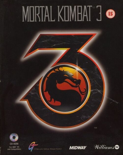 Cover for Mortal Kombat 3.
