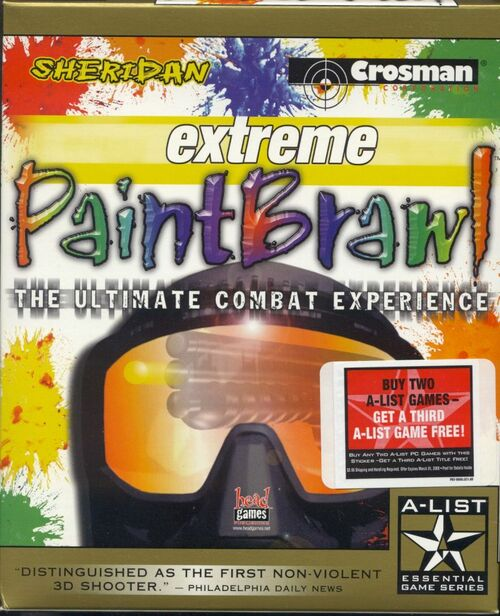 Cover for Extreme Paintbrawl.