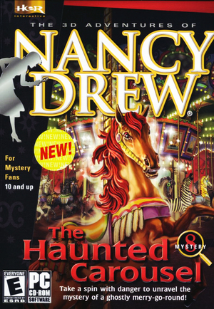 Cover for Nancy Drew: The Haunted Carousel.