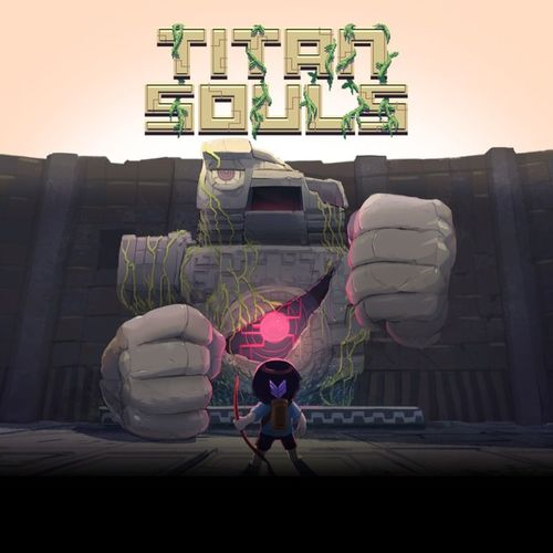 Cover for Titan Souls.