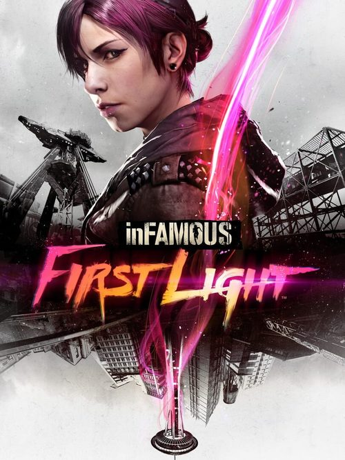 Cover for Infamous First Light.