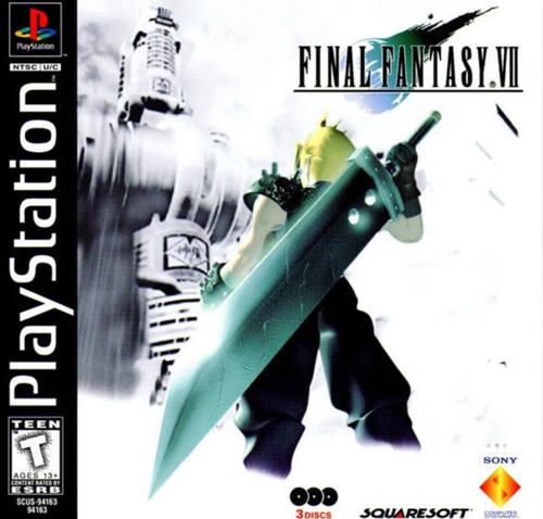 Cover for Final Fantasy VII.