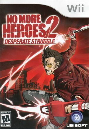Cover for No More Heroes 2: Desperate Struggle.