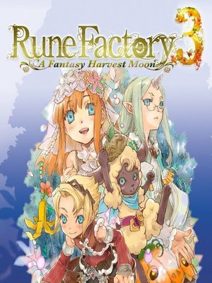 Cover for Rune Factory 3: A Fantasy Harvest Moon.