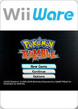 Cover for Pokémon Rumble.