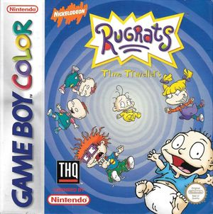 Cover for Rugrats: Time Travelers.