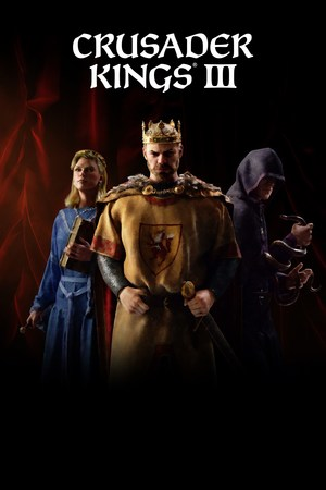 Cover for Crusader Kings III.