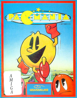 Cover for Pac-Mania.