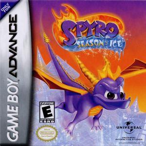 Cover for Spyro: Season of Ice.
