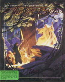 Cover for J.R.R. Tolkien's The Lord of the Rings, Vol. II: The Two Towers.