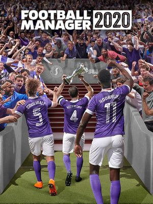 Cover for Football Manager 2020.