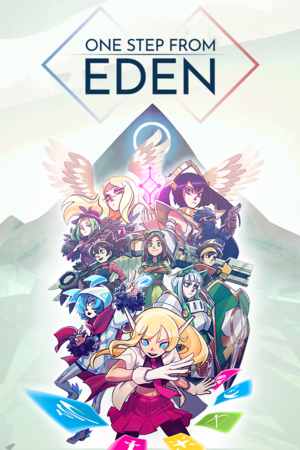 Cover for One Step From Eden.