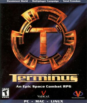 Cover for Terminus.
