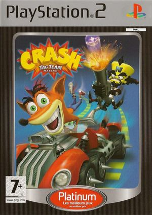 Cover for Crash Tag Team Racing.