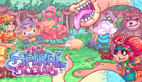 Cover for The Spiral Scouts.