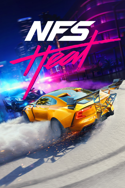 Cover for Need for Speed Heat.