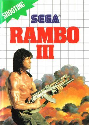 Cover for Rambo III.