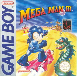 Cover for Mega Man III.