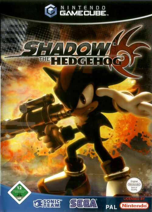 Cover for Shadow the Hedgehog.