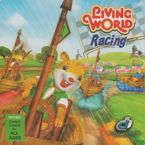 Cover for Living World Racing.
