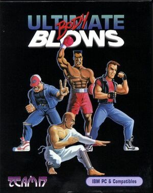 Cover for Ultimate Body Blows.