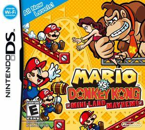 Cover for Mario vs. Donkey Kong: Mini-Land Mayhem!.