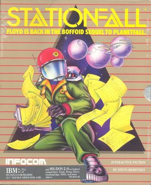 Cover for Stationfall.