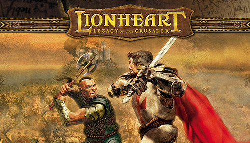 Cover for Lionheart: Legacy of the Crusader.